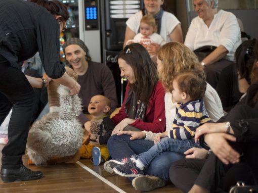 Espectacle per a nadons: Uni, dori, teri, cuteri